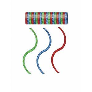Procos Generique - 3 Rouleaux de serpentins Rouge Bleu Vert Pyjamasques