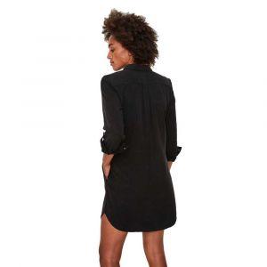 Vero Moda Robes Vero-moda Silla L/s Short - Black - XS