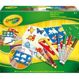 Crayola Jeux de pochoirs