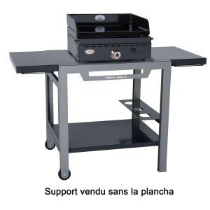 Forgeadour TRBF GMO - Table roulante en fer pour plancha 450,600 et 750