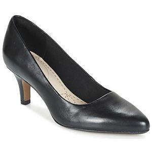 Clarks Isidora Faye, Escarpins Femme, Noir (Black Leather), 40 EU
