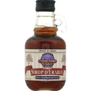 Classic Foods of America Sirop d'erable