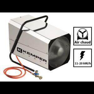 Kemper Générateur d'air chaud réglable 11 à 20 kW/h -