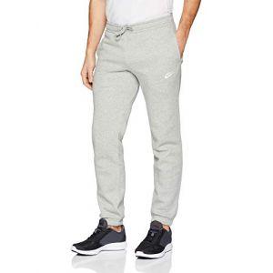 Nike Pantalon en tissu Fleece coupe standard Sportswear pour Homme - Gris - Taille M - Male