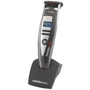 Babyliss E877E - Tondeuse à barbe rechargeable et sur secteur