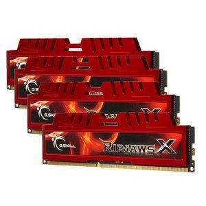 G.Skill F3-1866C10Q-32GXL - Barrettes mémoire RipjawsX 4 x 8 Go DDR3 1866 MHz CL10 240 broches