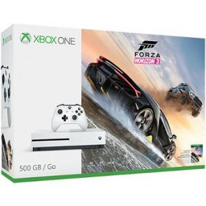 Microsoft Pack Xbox One S 500 Go + Forza Horizon 3