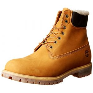 Timberland Boots 6 IN PREMIUM FUR/WARM LINED BOOT Beige - Taille 46