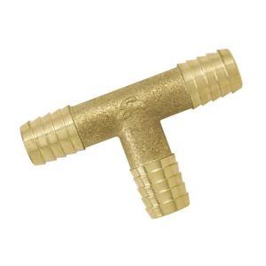 Boutté 2102462 - Raccord Té cannelé cylindrique pour tuyau Ø15mm