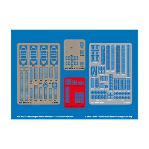 Schreiber-bogen 4476 - Maquette en carton Laser-cut Set Hamburger Hafen