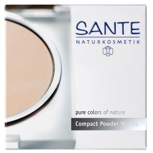 Image de Sante Naturkosmetik Poudre compacte N°1 Porcelaine