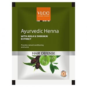 Vlcc Natural Science Henna Amla & Shikakai Extraits cheveux Mehndi Powder 100 g