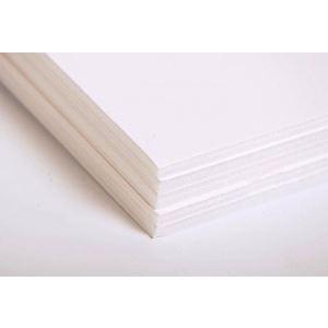 Maildor 93661C - Paquet de 5 feuilles de carton mousse 5 mm (50 x 65 cm)
