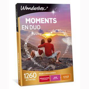 Wonderbox Moments en duo - Coffret cadeau 1260 activités