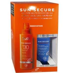 Laboratoires SVR Sun Secure - Coffret spray lait en brume SPF30 et après-soleil offert