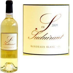 S de Suduiraut 2009 - Vin blanc moelleux de Bordeaux (AOC Bordeaux)