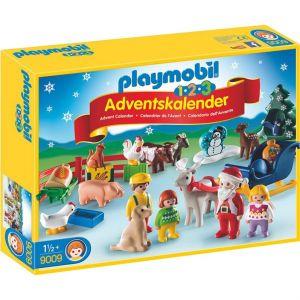 Playmobil 9009 - Calendrier de l'Avent 1.2.3 Noël à la ferme