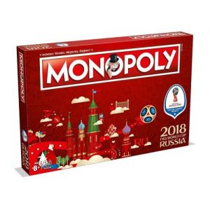 Winning Moves Monopoly Fifa Coupe Du Monde 2018