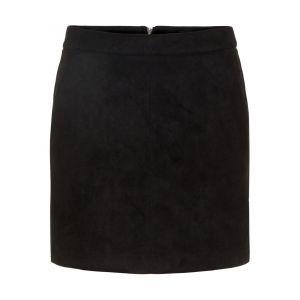 Vero Moda Short Skirt Women black Black - Taille S