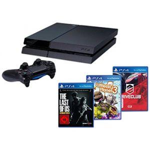 Sony Playstation 4 500 Go + 3 jeux
