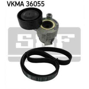SKF Kit de courroies d'accessoires VKMA36055