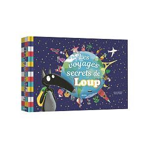 Auzou editions Le Loup Les voyages secrets de Loup