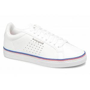 Le Coq Sportif Courtace Sport Optical White, Baskets Femmes, Blanc (Optical White Blanc), 40 EU