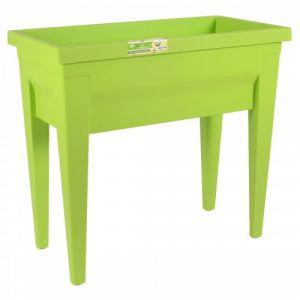 Eda Plastiques City Végétable 57 L - Espace potager avec table 73 x 38,5 x 68 cm
