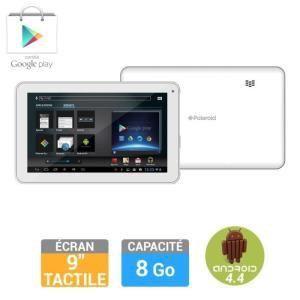 "Polaroid Infinite 9"" 8 Go - Tablette tactile sous Android 4.4 Kit Kat"