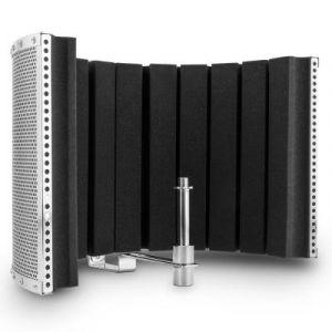 Auna ana MP32 MKII - Ecran acoustique pour microphone (absorbeur de bruits ambiants et echos pour prise de son sèche, pour studio ou live, mousse 5cm d'épaisseur)