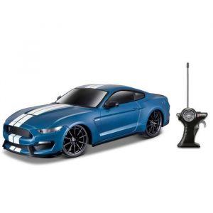 Maisto M81088 - Ford Shelby GT350 - Radiocommandée - Echelle 1/24 - Bleu