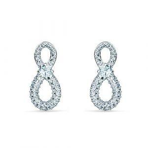 Swarovski Boucles d'oreilles 5518880 - Boucles d'oreilles étincelantes cristaux Femme