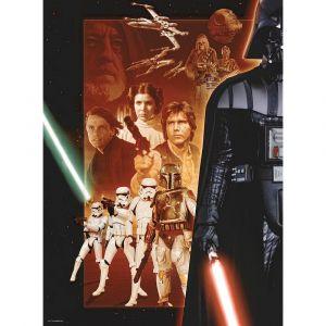 Ravensburger Star Wars Héros de la première trilogie - Puzzle 500 pièces
