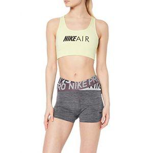 Nike Short Pro Intertwist 8 cm pour Femme - Gris - Taille L - Female