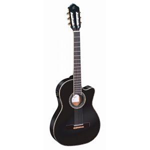 Ortega RCE145BK Guitare de concert avec housse