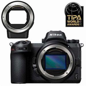 Nikon Z6 + bague d'adaptation FTZ AF