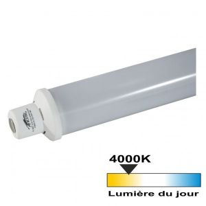 Tube linolite led S19 7 watt (eq 60 watt) - Couleur eclairage - Blanc neutre