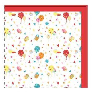 Yoopy 20 serviettes en papier Anniversaire