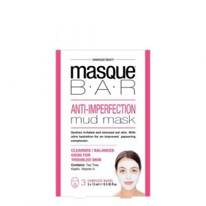 Masque B.A.R Masque de Boue Anti-Imperfections x 3