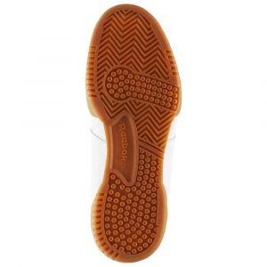 Reebok Workout Plus, Chaussures de Fitness garçon, Blanc