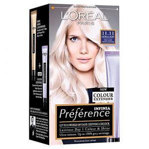 L'Oréal Préférence Luminous Colour Full of Reflects - Permanent Haircolour - 11.11 Venice