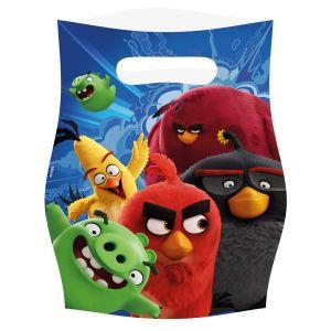 Amscan 8 sachets Angry Birds