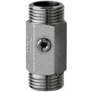 Presto Robinet d'arrêt droit - MM G1/2' - avec joint filtre plat -