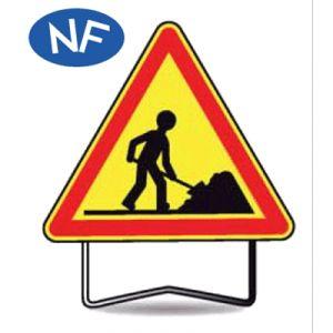 Taliaplast 522104 - Panneau danger travailleur AK5 C2 1000mm
