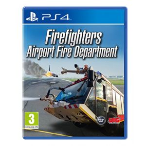 Airport Firefighters The Simulation sur PS4