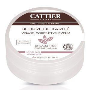 Cattier Beurre de Karité visage, corps et cheveux