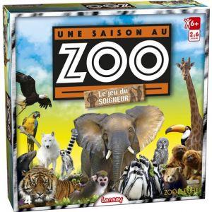 Lansay Une saison au Zoo - Le jeu du soigneur