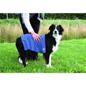 Trixie Serviette en microfibre pour chien, chat et cheval (50 x 60 cm)
