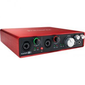 Focusrite Scarlett2 6i6 -  Interface audionumérique USB Scarlett 2nd Generation