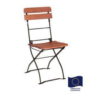 Foresta Cafe - Chaise pliable en acacia